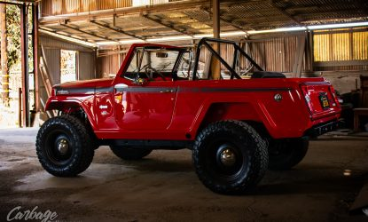 Carbage Online Justin Banner Synergy Manufacturing Poly Performance Jeep JK Commando Jeepster LQ9-87