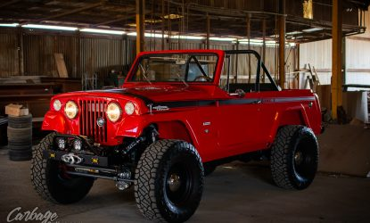 Carbage Online Justin Banner Synergy Manufacturing Poly Performance Jeep JK Commando Jeepster LQ9-91